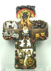 God Keeps His Promises Wall Noah and the ark Cross by CHRISTIAN BRANDS INC.