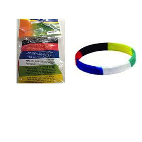Plan Of Salvation Rubber Bracelet