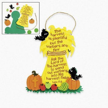 Harvest Fall Inspirations Ornament Craft Kit - Religious Crafts & Crafts for Kids