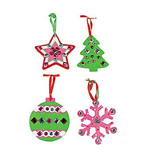 12 Paint Your Own Ceramic Christmas Ornaments