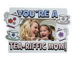 Paper Color Your Own Tea-Riffed Picture Frames - 1 Dozen