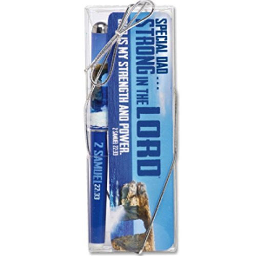 Strong In The Lord Pen And Bookmark Gift Set Dad Version