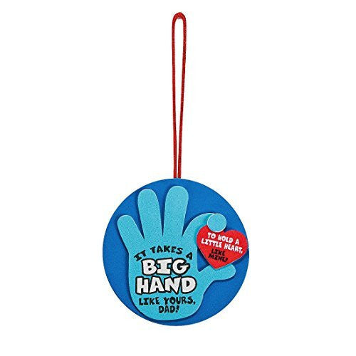OTC Blue Foam Father's Day Hand Ornament Craft Kit
