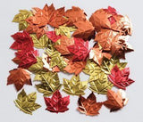 Autumn Maple Leaves Confetti - 1/2 ounce bag