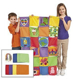 Operation Cooperation! Design Your Own Colorful Classroom Quilts - Crafts for Kids & Design Your Own
