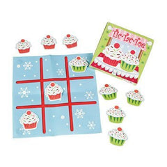 Sweet Treats Mini Tic-Tac-Toe Games - Stocking Stuffers & Toys & Games & Activities