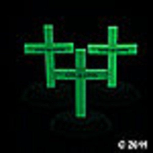 Glow-In-The-Dark Crosses