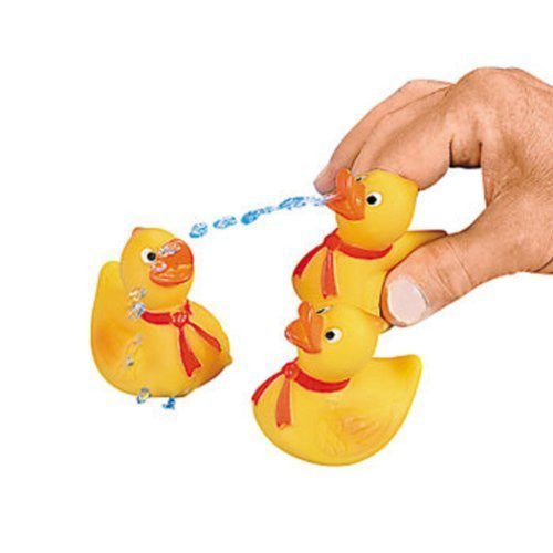 36 Rubber Ducky Squirts