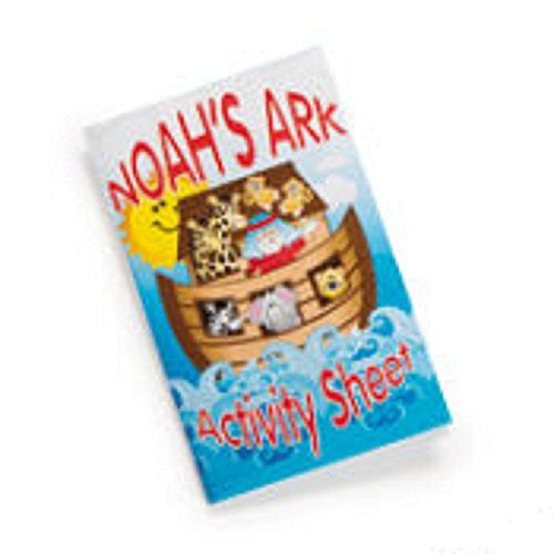 12 Noah's Ark Fold up Booklet with Activity Sheets