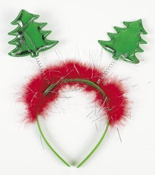 Christmas Tree Head Bopper Headband