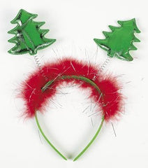 "1 ~ Christmas Tree Head Bopper Headband ~ Approx. 9"" ~ New"