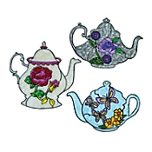 Mother's Day Teapot Sun Catchers Craft Kits