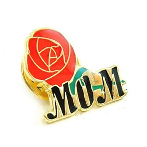 A Rose for Mom Lapel Pin - Mother's Day Gift