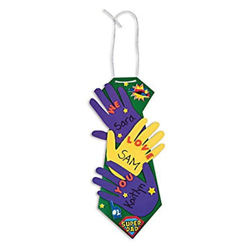 Father's Day Handprint Tie Craft Kit