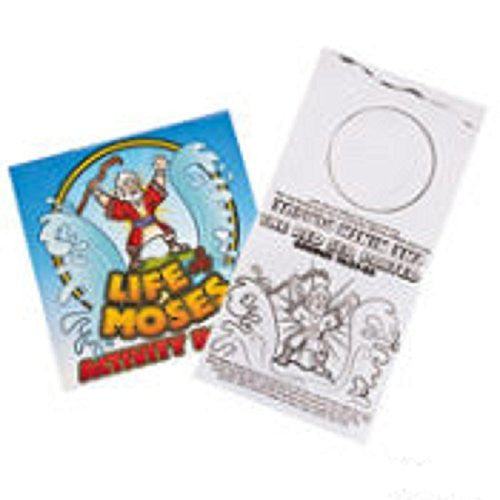 12 Life of Moses Activity Books
