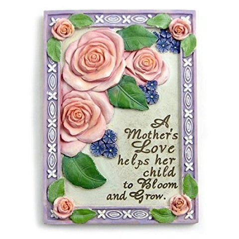 A Mother's Love Roses Plaque Gift