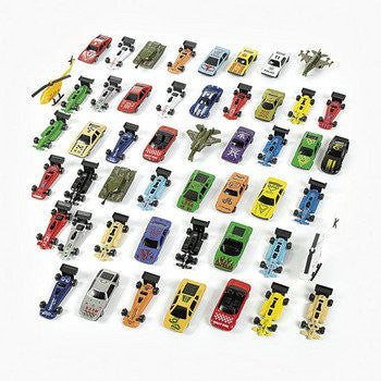 Mega Die Cast Toy Car Vehicle Assortment