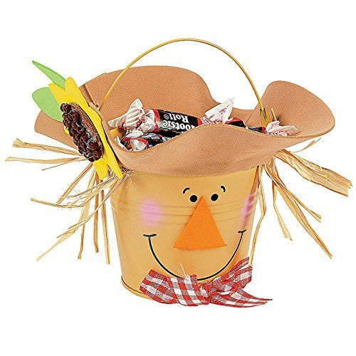 Scarecrow Bucket Craft Kit