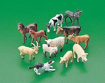 Vinyl Farm Animals (1 dz)