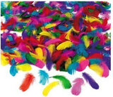Play Feather Assortment 600 Colorful Feathers