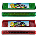 Smile Jesus Loves You Plastic Harmonicas Party Favors (12 Pack) 6""