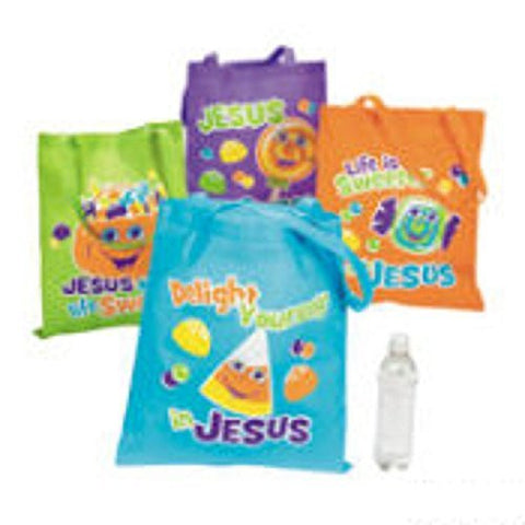 12 Truth & Treats Totes Halloween Treat Bags