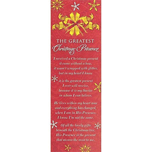 The Greatest Christmas Promise Bookmarks (72 Bookmarks)