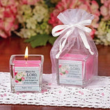 Bouquet of Blessings Mini Candle