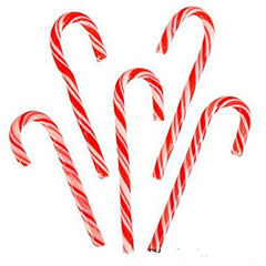 "5.5"" Peppermint Candy Canes (24 Pieces)"