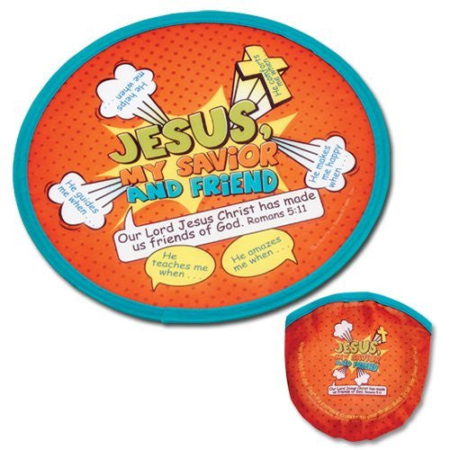 Jesus, My Savior and Friend, Flying Disk