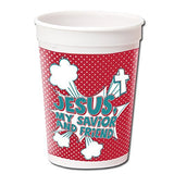 8 Jesus My Savior & Friend Plastic Tumblers