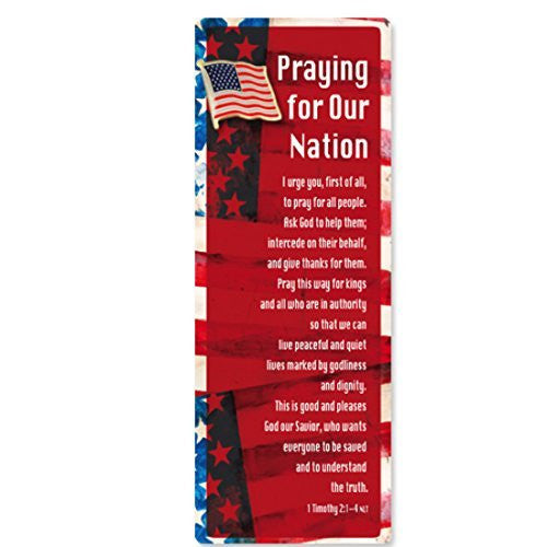 Praying for Our Nation Bookmark & Flag Pin