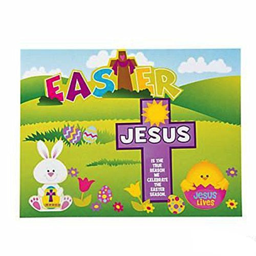 Jesus Is the Reason For the Season Easter Sticker Scenes