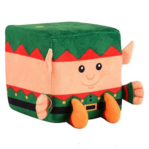 Plush Christmas Cube Elf (12 Pack) Bulk