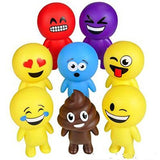 "6"" EMOTICON BUDDY TOY ASSORTMENT (12 PACK)"