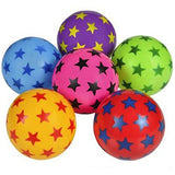 "3"" STAR VINYL BALL INFLATED MINI BEACH BALLS (36 BALLS)"