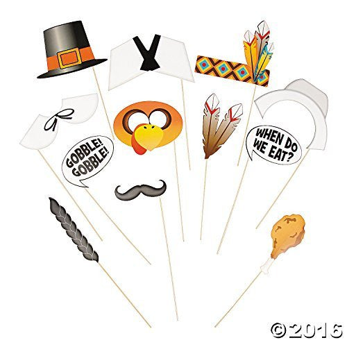 Thanksgiving Photo Props (1 Dozen)