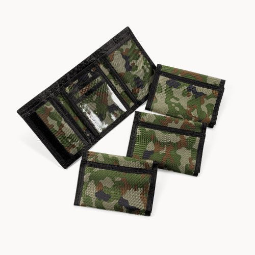 Camouflage Wallets (1 dz)