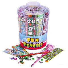 120 PC STATIONERY ASSORTMENT IN TUB
