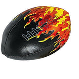 Vinyl Foam Filled Flame Football