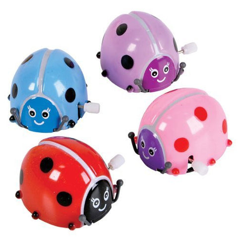 2 Inch Plastic Wind Up And Flipping Ladybug (144 Pack) [Toy]