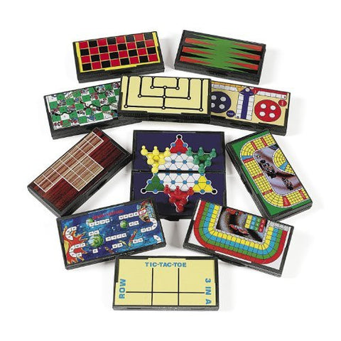Plastic Magnetic Travel Games (1 dz)