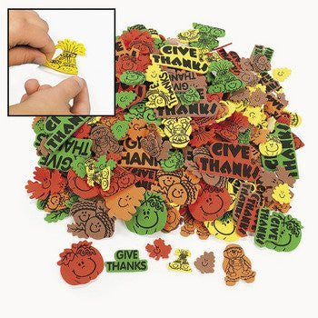 Fabulous Foam Self-Adhesive Fall Shapes - Art & Craft Supplies & Foam Shapes