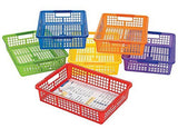 Classroom Storage Baskets With Handles 6 Piece