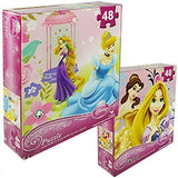 "Disney Assorted Princess Puzzle 9"" x 10"" 48 Piece by Joissu"
