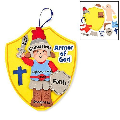 Armor of God Foam Kids Craft Kit (Makes 12)