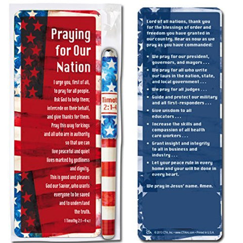 Patriotic Pen & Bookmark Gift Set