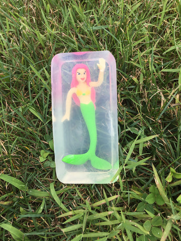 Toy Embedded Mermaid Soap