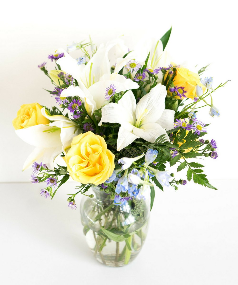 Bluetiful Sunshine Bouquet Mother's Day Gift