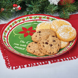 A Reason to Rejoice Ceramic Christmas Platter